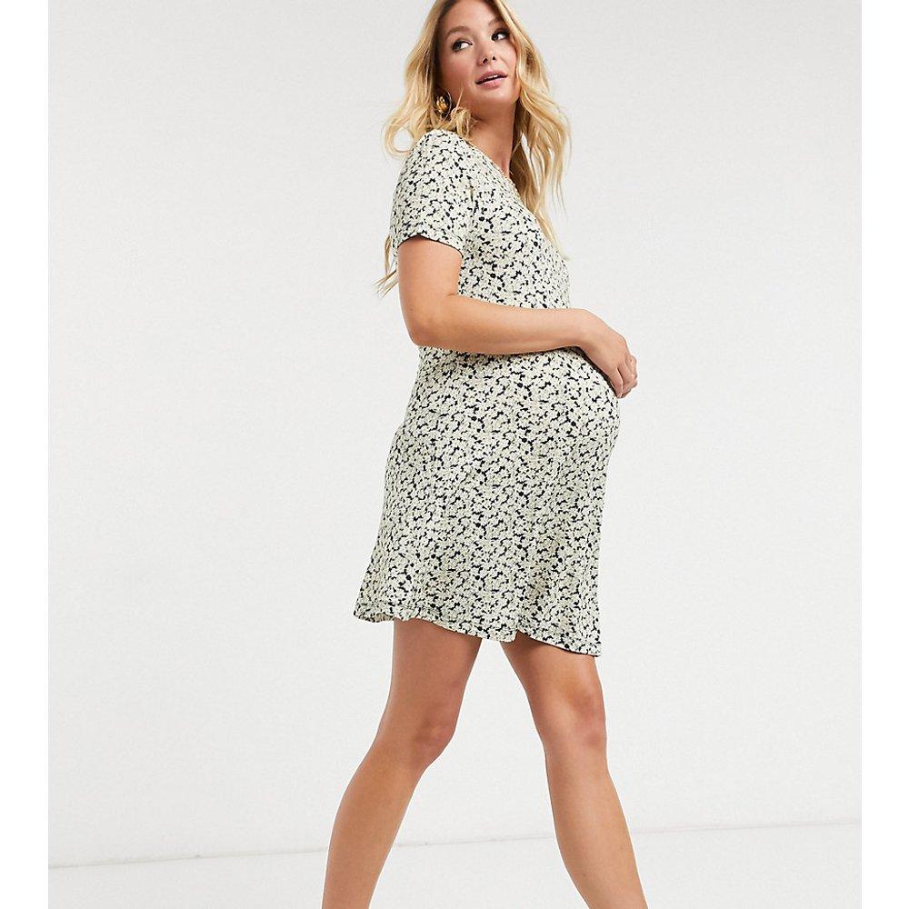 ASOS DESIGN Maternity - Robe courte - vintage et blanc fleuri - ASOS Maternity - Modalova