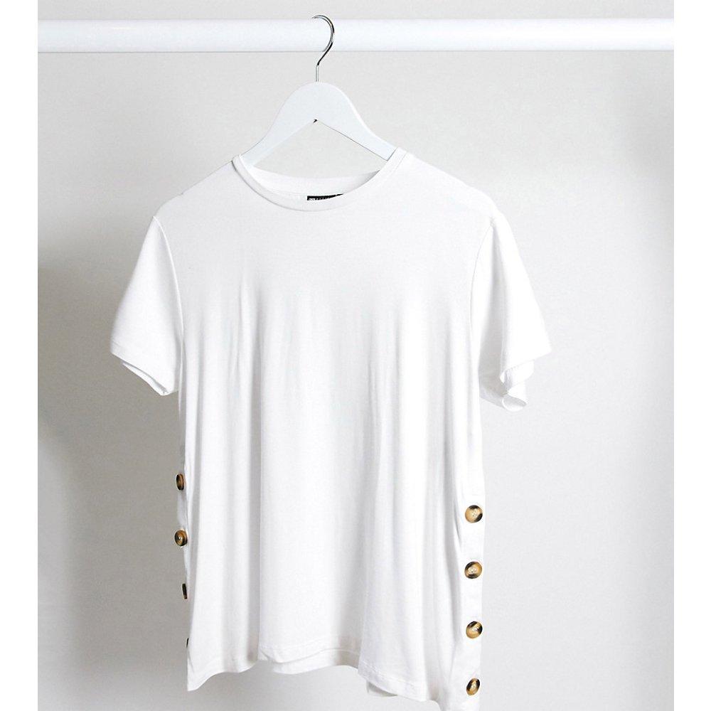 ASOS DESIGN Maternity - T-shirt d'allaitement boutonné sur les côtés - ASOS Maternity - Nursing - Modalova