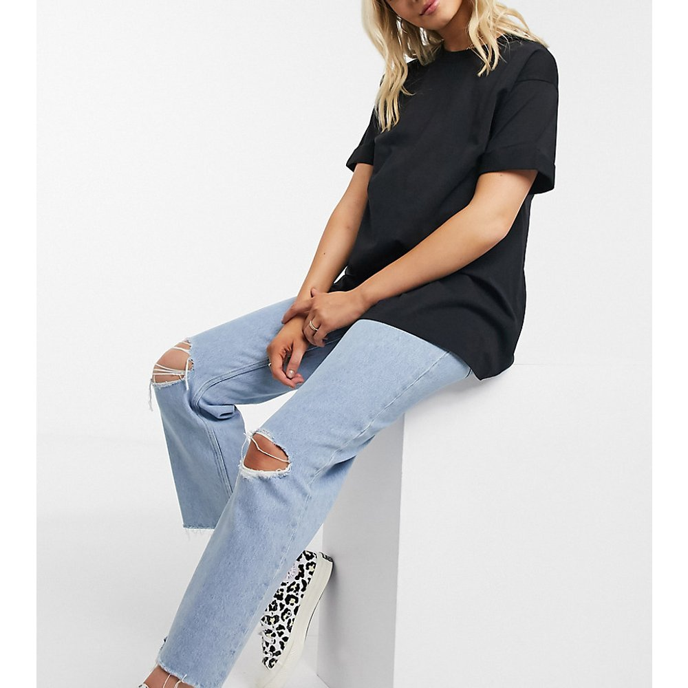 ASOS DESIGN Maternity - T-shirt décontracté à manches retroussées - ASOS Maternity - Modalova