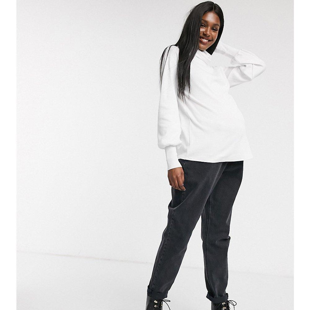 ASOS DESIGN Maternity - Top décontracté avec col roulé souple - ASOS Maternity - Modalova