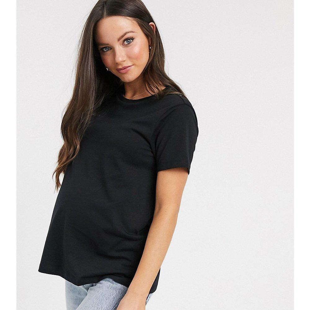 ASOS DESIGN Maternity - Ultimate - T-shirt ras de cou en coton biologique - ASOS Maternity - Modalova