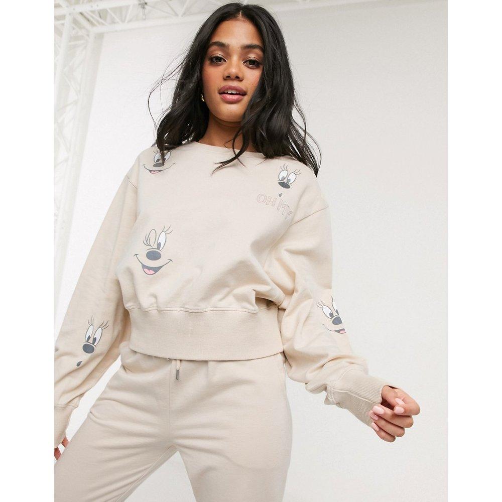 Mickey Mouse - Sweat-shirt confort - ASOS DESIGN - Modalova