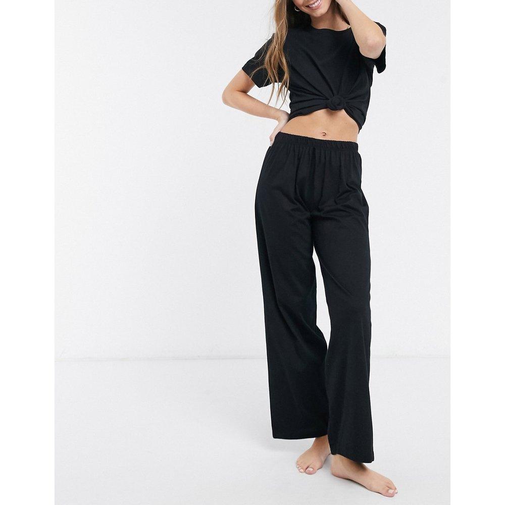 Mix & Match - Pantalon de pyjama droit en jersey - ASOS DESIGN - Modalova