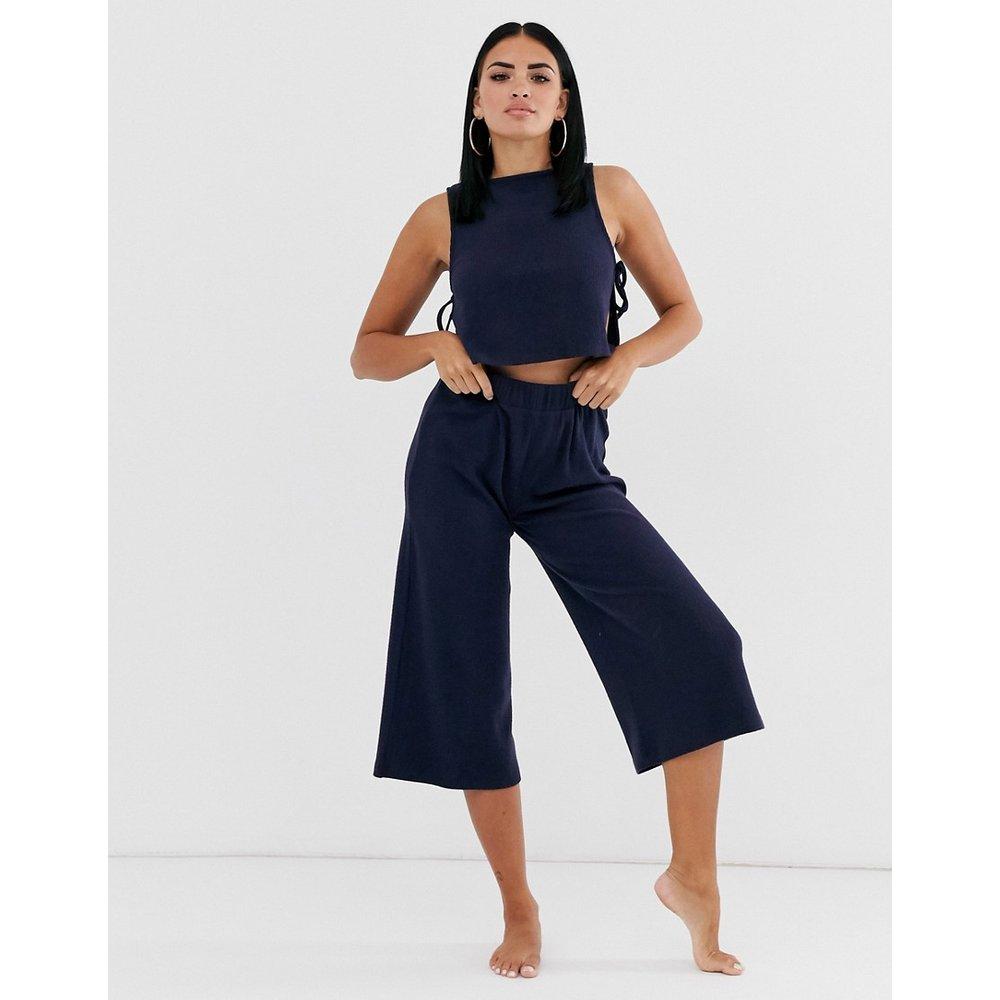 Mix & match - Pantalon large décontracté court côtelé - ASOS DESIGN - Modalova