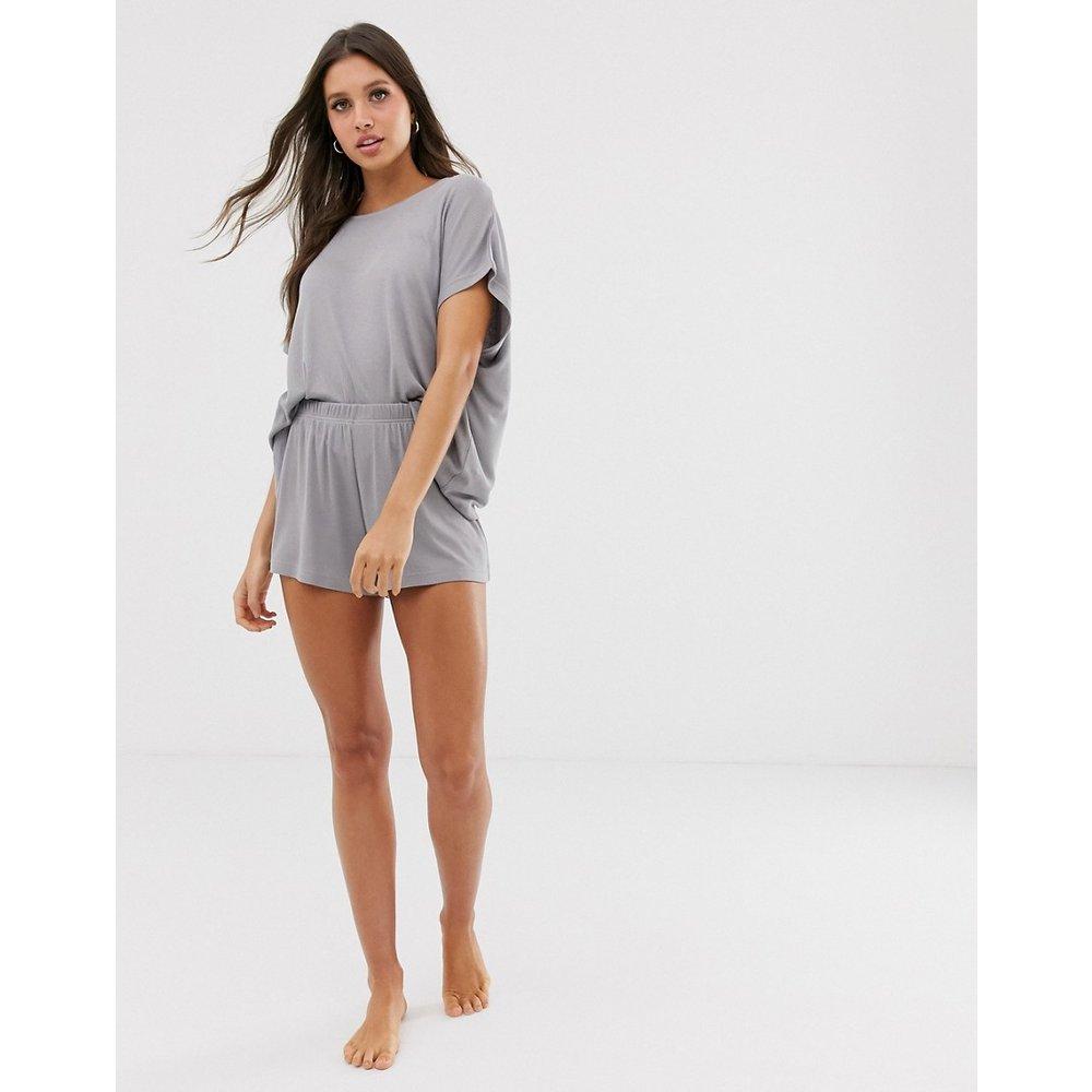 Mix & Match - Short de pyjama en jersey côtelé - ASOS DESIGN - Modalova
