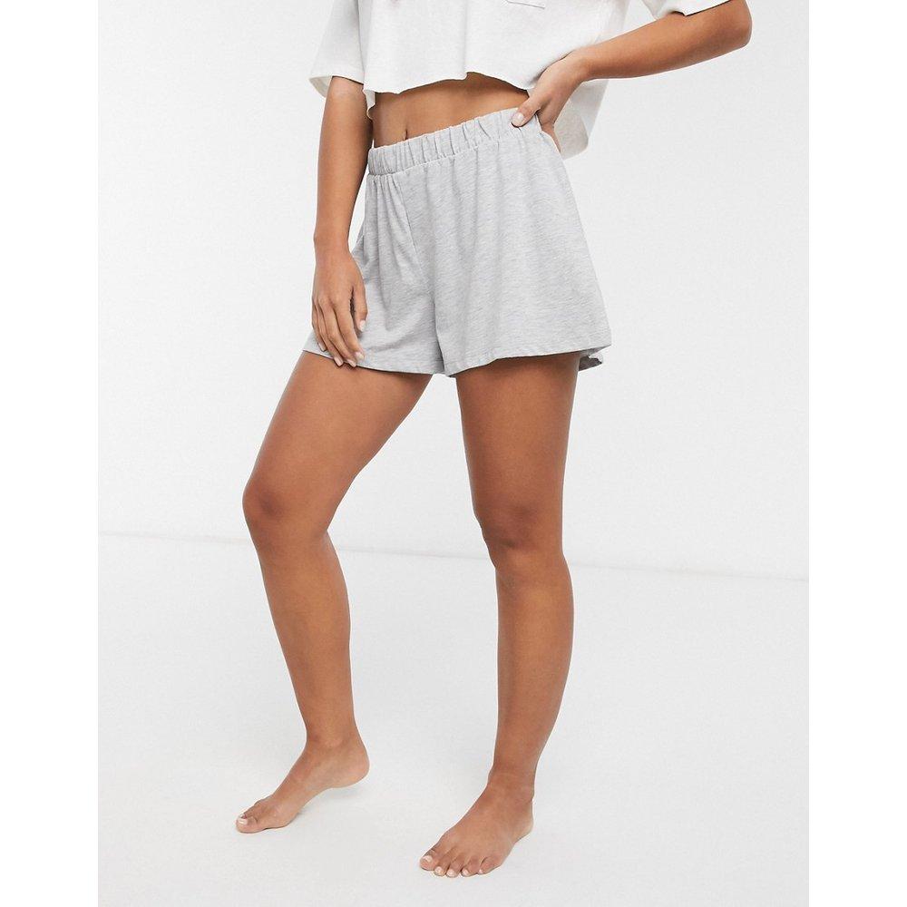 Mix & Match - Short de pyjama en jersey - chiné - ASOS DESIGN - Modalova