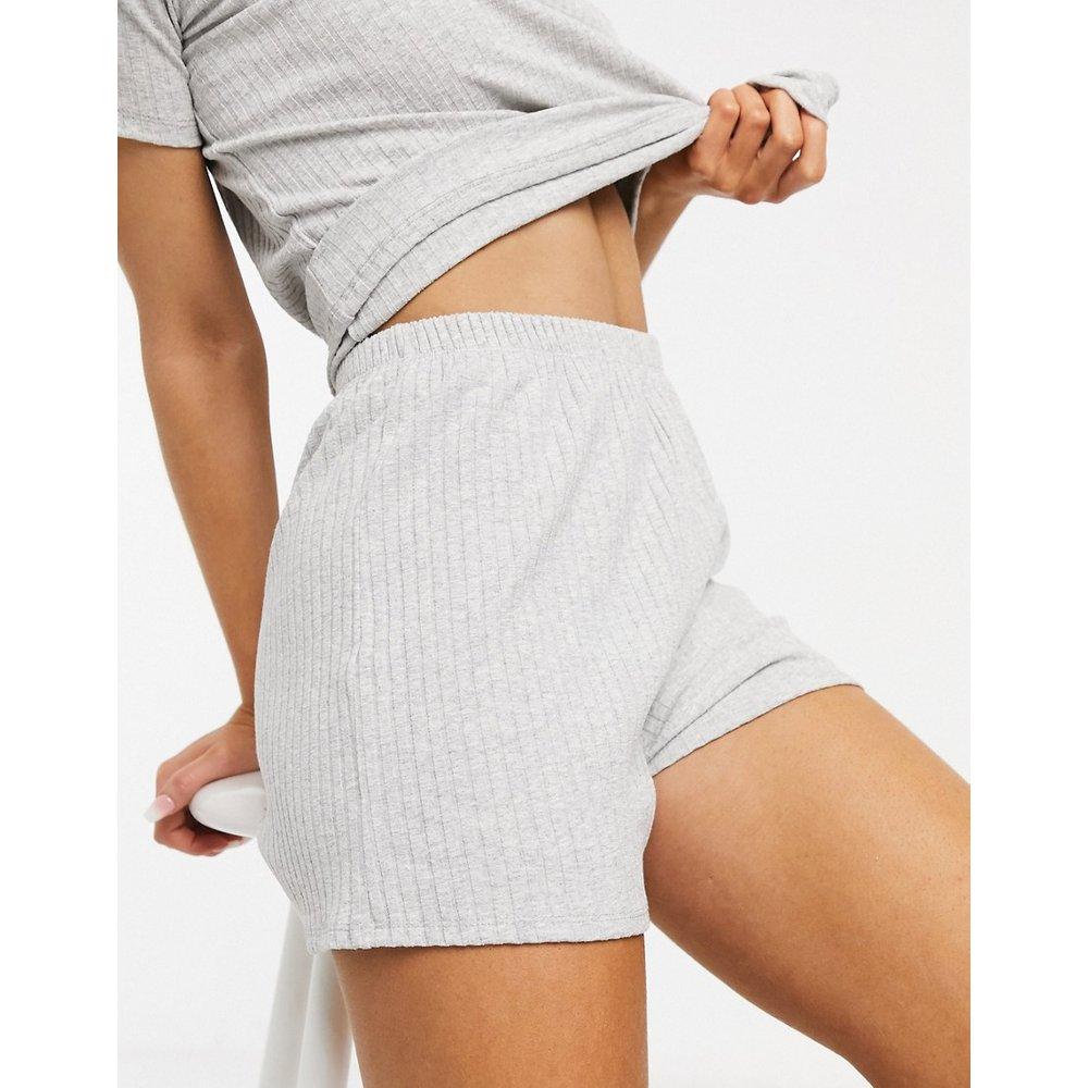 Mix & Match - Short de pyjama en tissu côtelé - ASOS DESIGN - Modalova