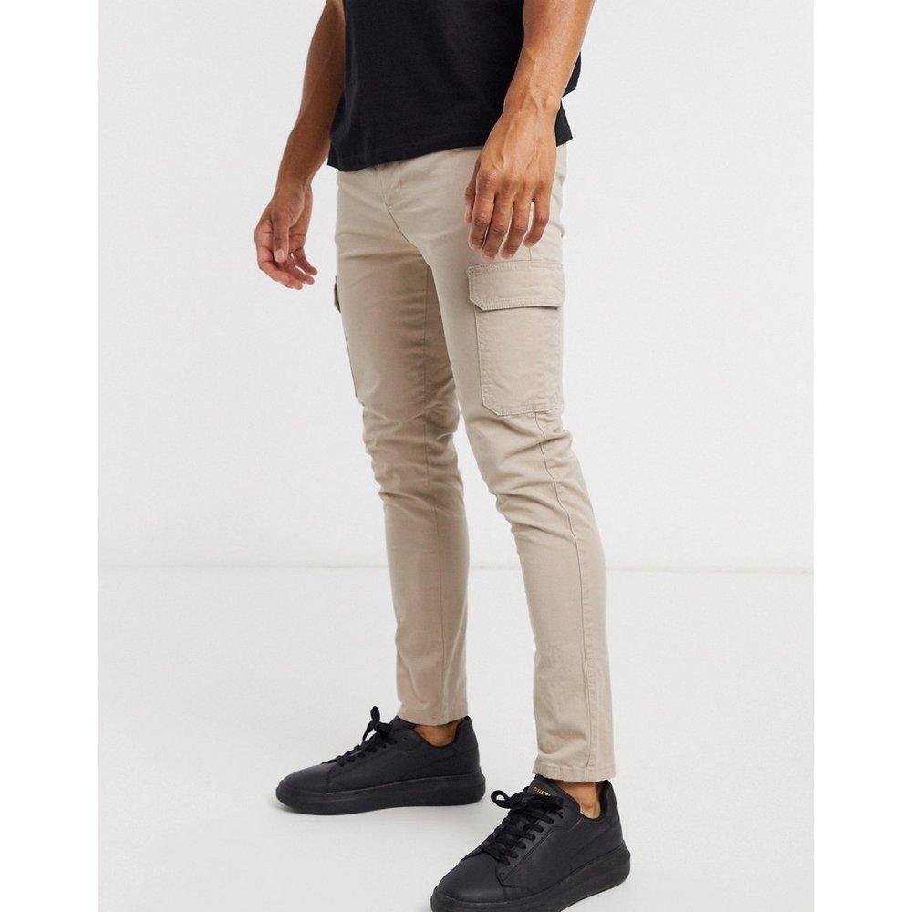 Pantalon cargo ajusté - ASOS DESIGN - Modalova