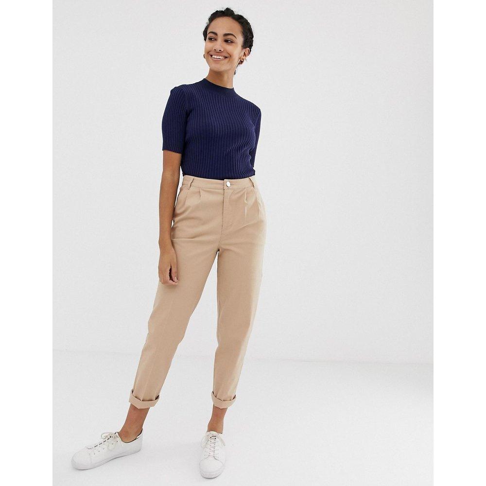 ASOS DESIGN - Pantalon chino-Beige - ASOS DESIGN - Modalova