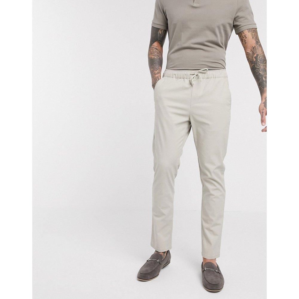 Pantalon chino slim à taille élastique - ASOS DESIGN - Modalova