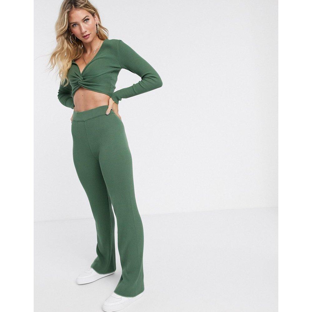 Pantalon confort large en maille (ensemble) - ASOS DESIGN - Modalova