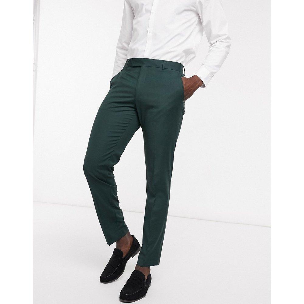 Pantalon de costume ajusté - bouteille - ASOS DESIGN - Modalova