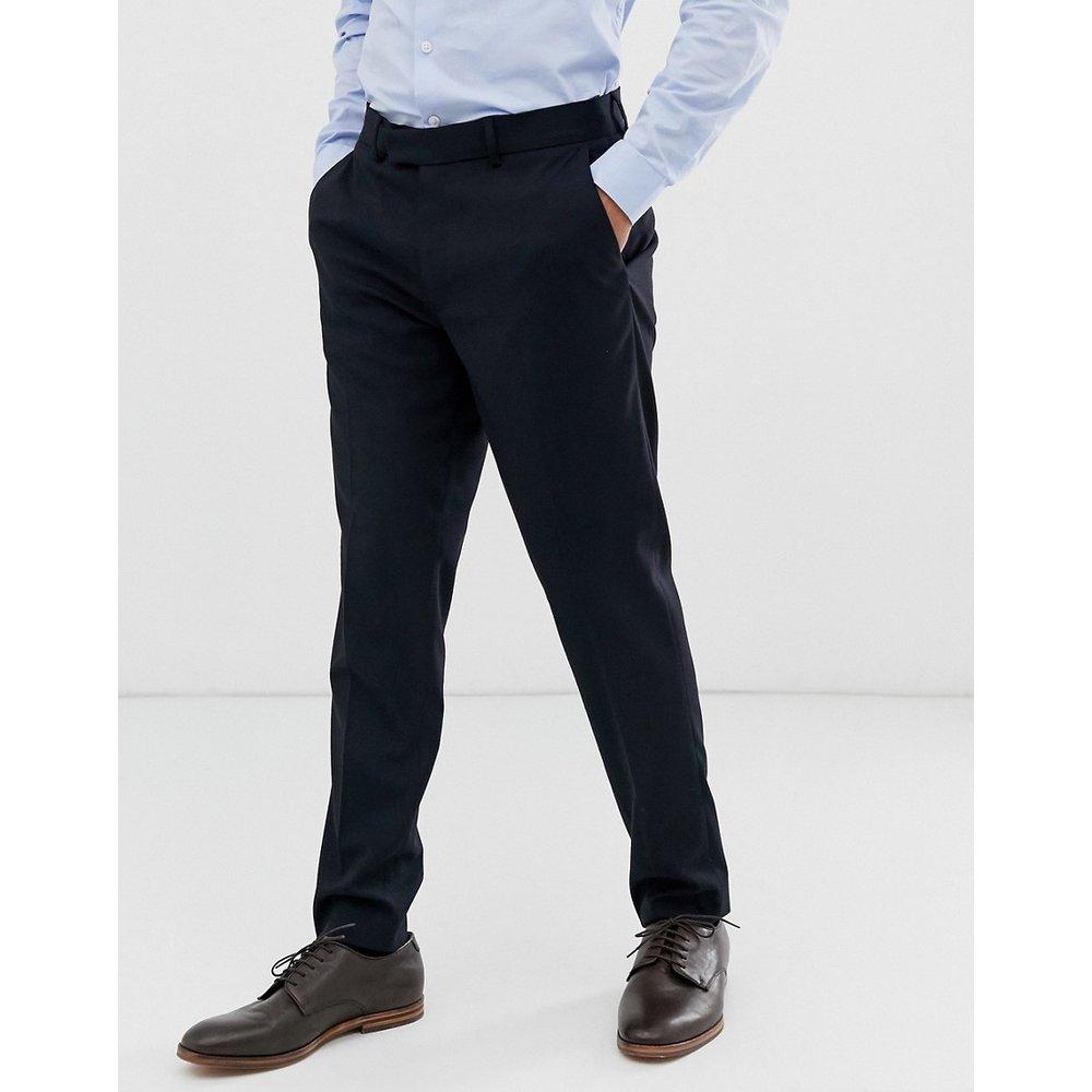 Pantalon de costume slim - Bleu marine - ASOS DESIGN - Modalova