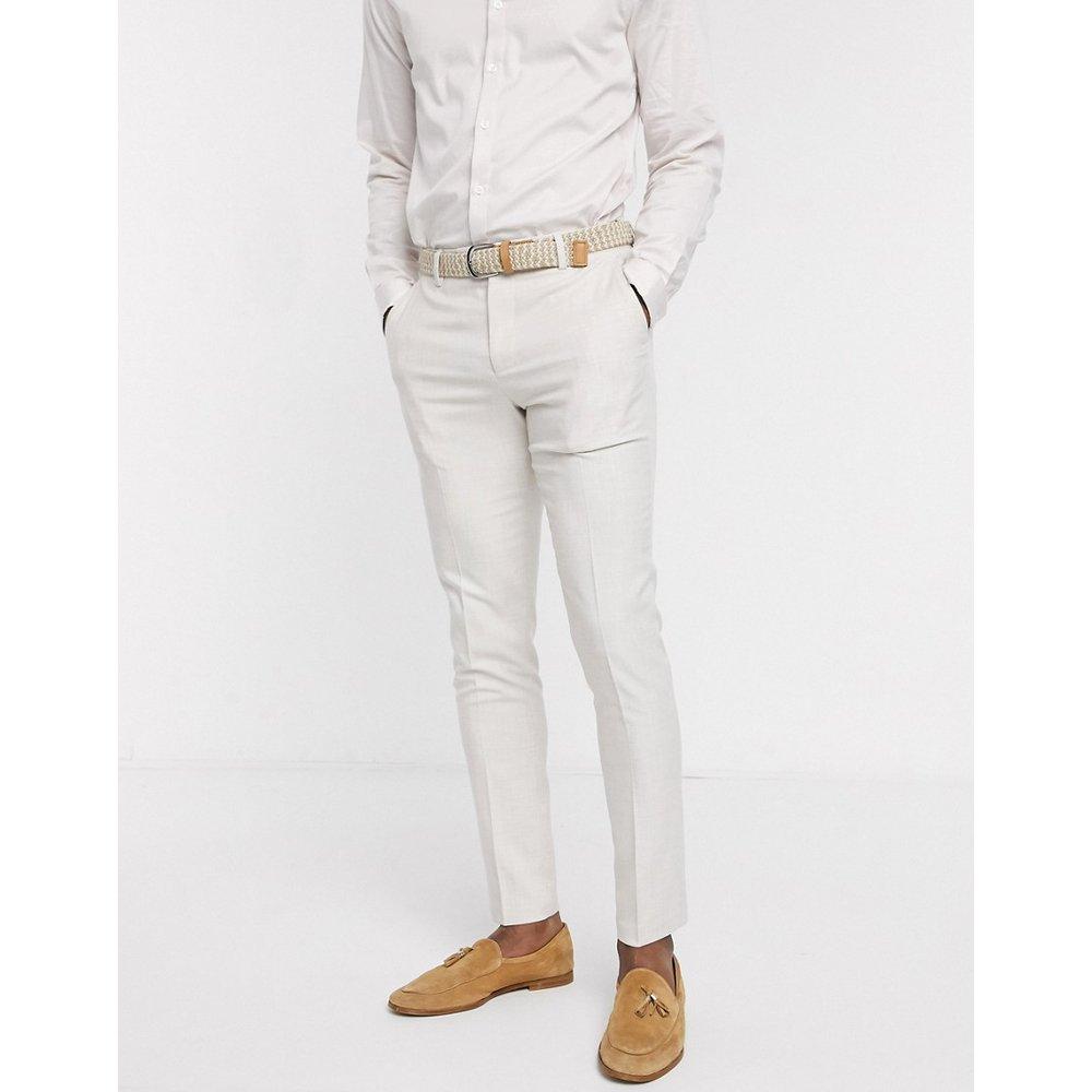 Pantalon de costume slim - glacé - ASOS DESIGN - Modalova
