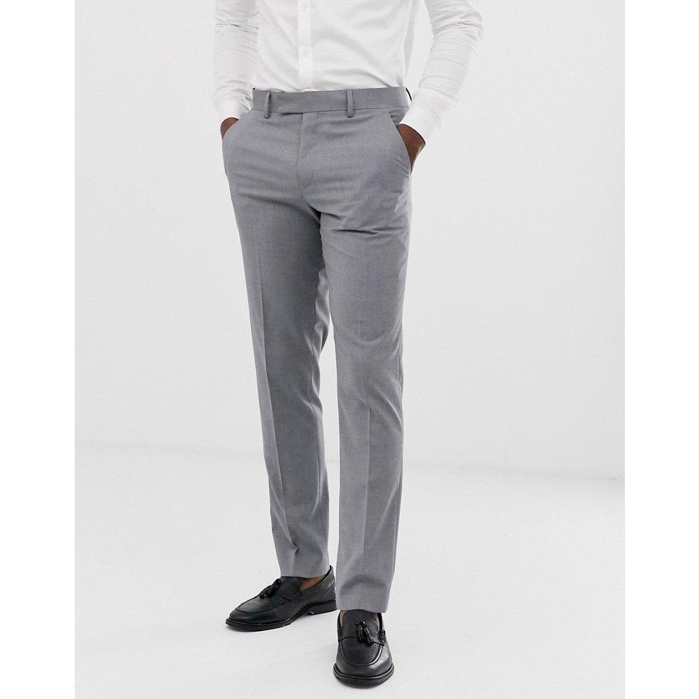 Pantalon de costume slim - moyen - ASOS DESIGN - Modalova