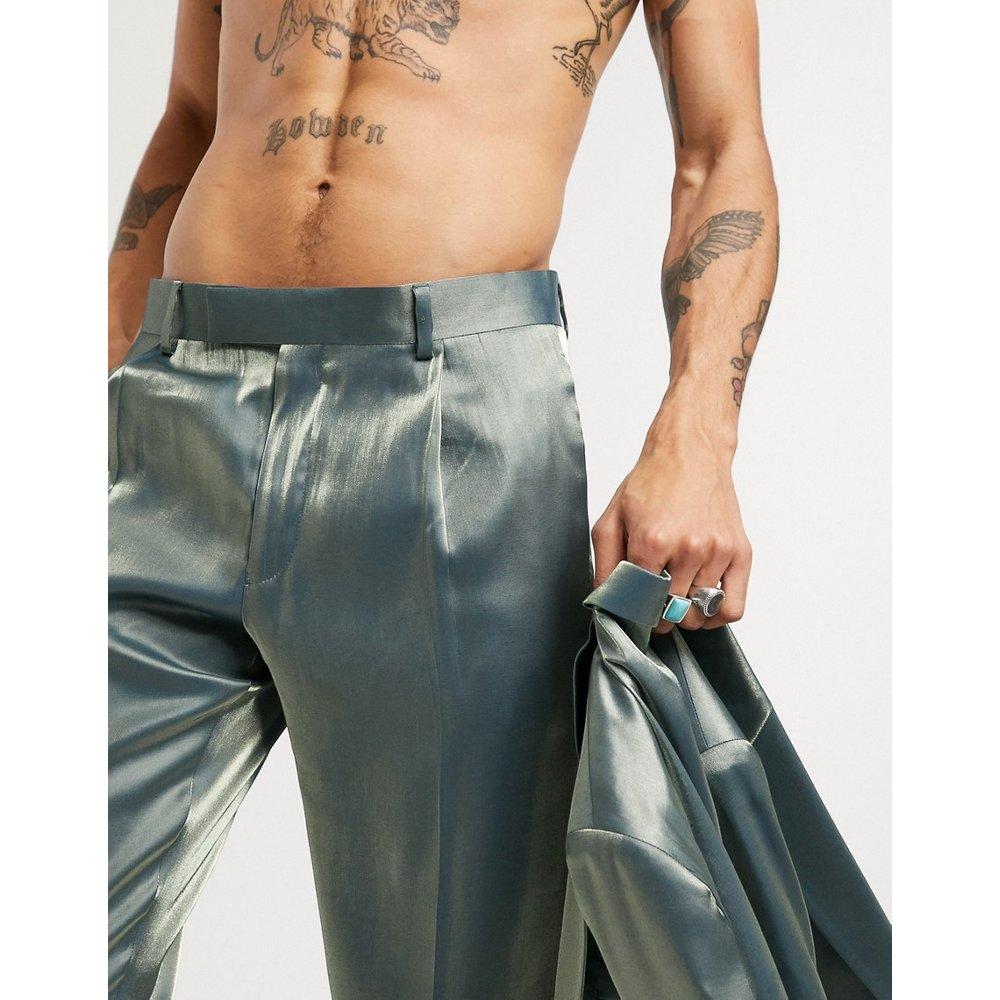 Pantalon de costume slim - tonique - ASOS DESIGN - Modalova