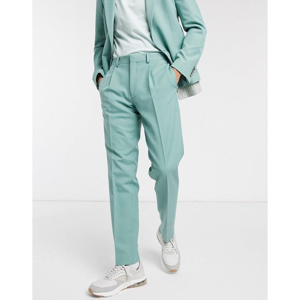 Pantalon de costume slim - Rayures - ASOS DESIGN - Modalova