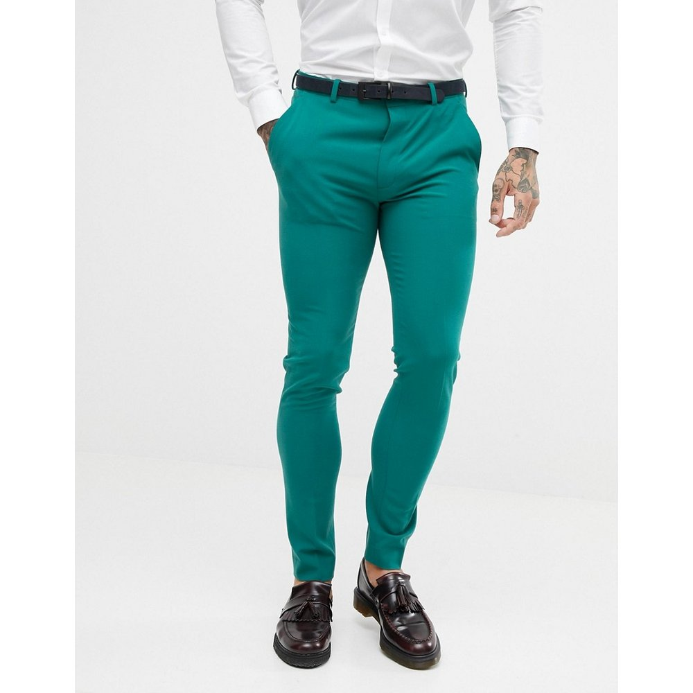 Pantalon de costume super skinny - ASOS DESIGN - Modalova