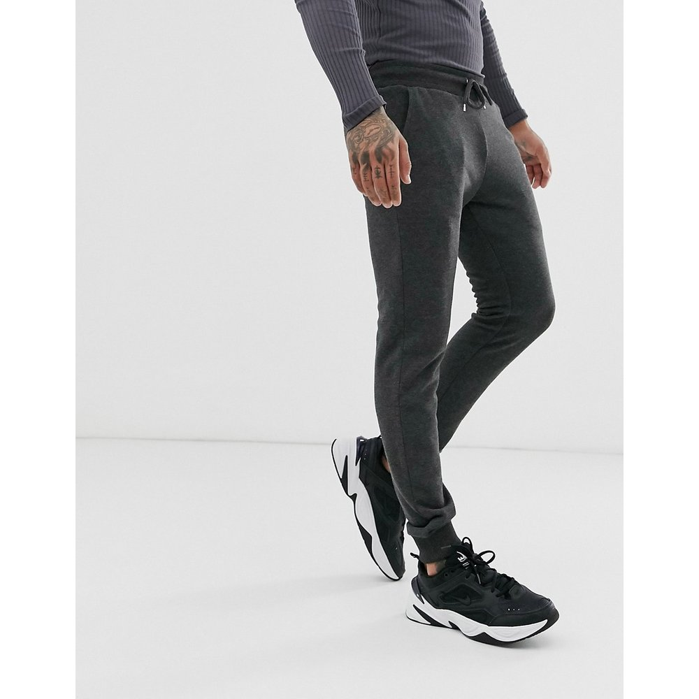 Pantalon de jogging skinny - Anthracite - ASOS DESIGN - Modalova