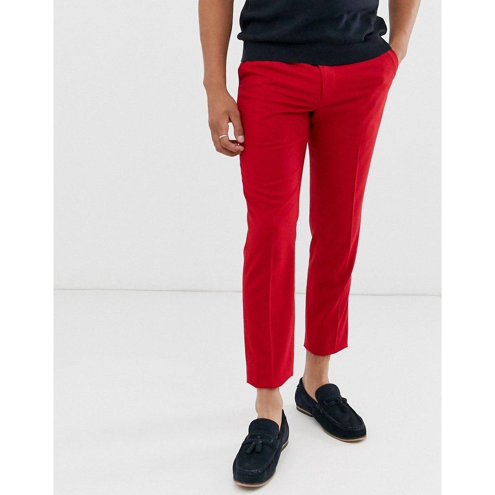 Pantalon habillé ajusté - vif - ASOS DESIGN - Modalova