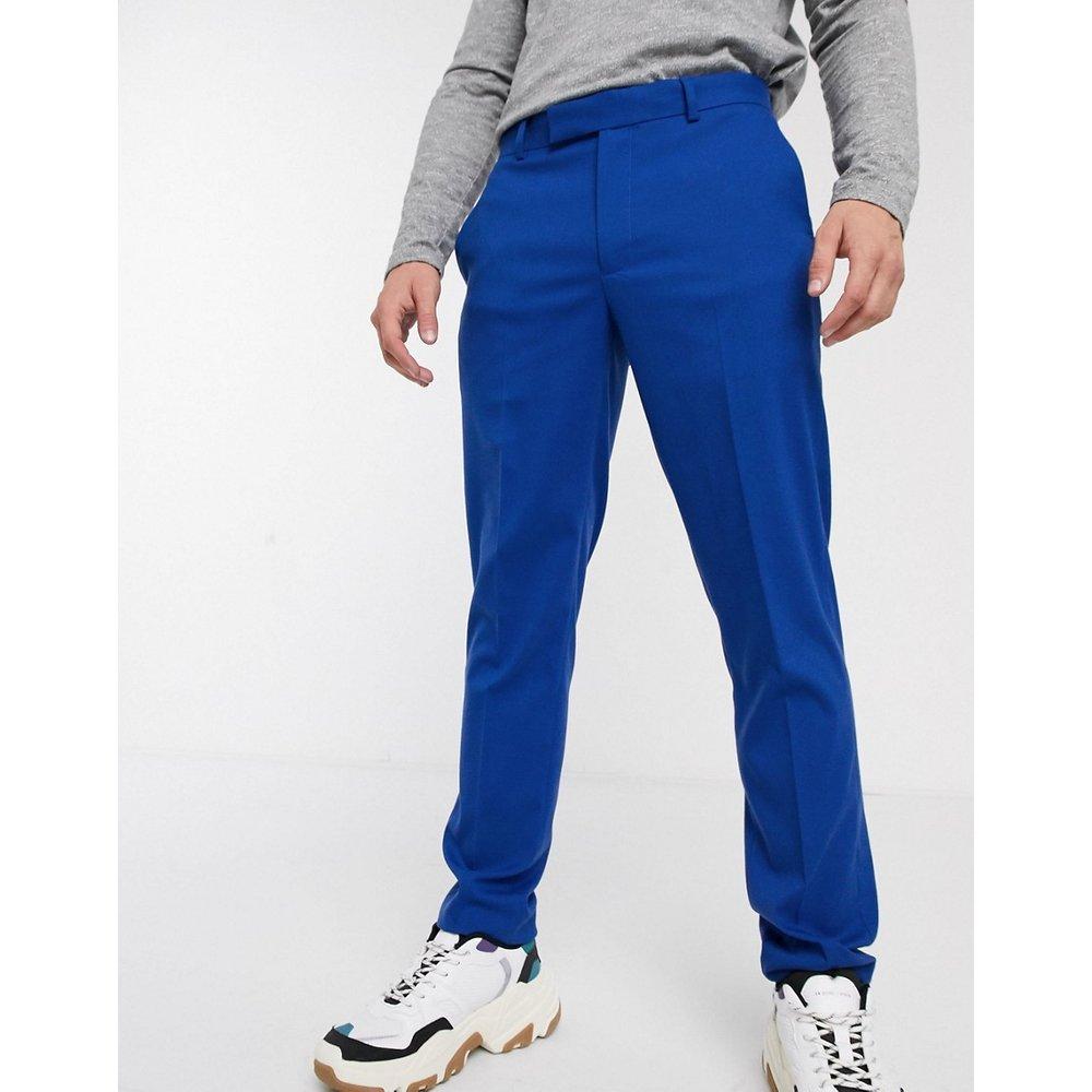 Pantalon habillé coupe slim - vif - ASOS DESIGN - Modalova