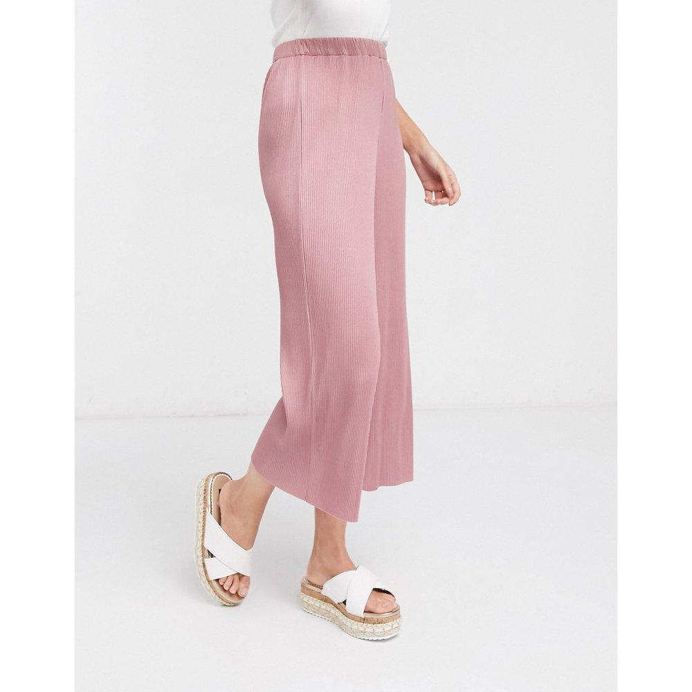 Pantalon jupe-culotte plissé - ASOS DESIGN - Modalova