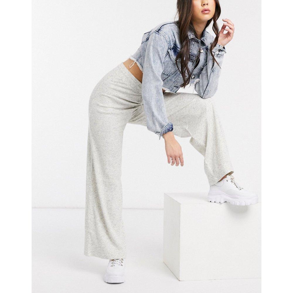 Pantalon large côtelé chiné - ASOS DESIGN - Modalova