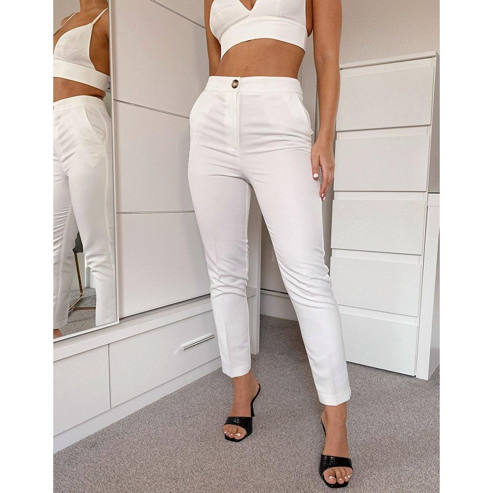 Pantalon rétréci de tailleur 3 pièces masculin - ASOS DESIGN - Modalova
