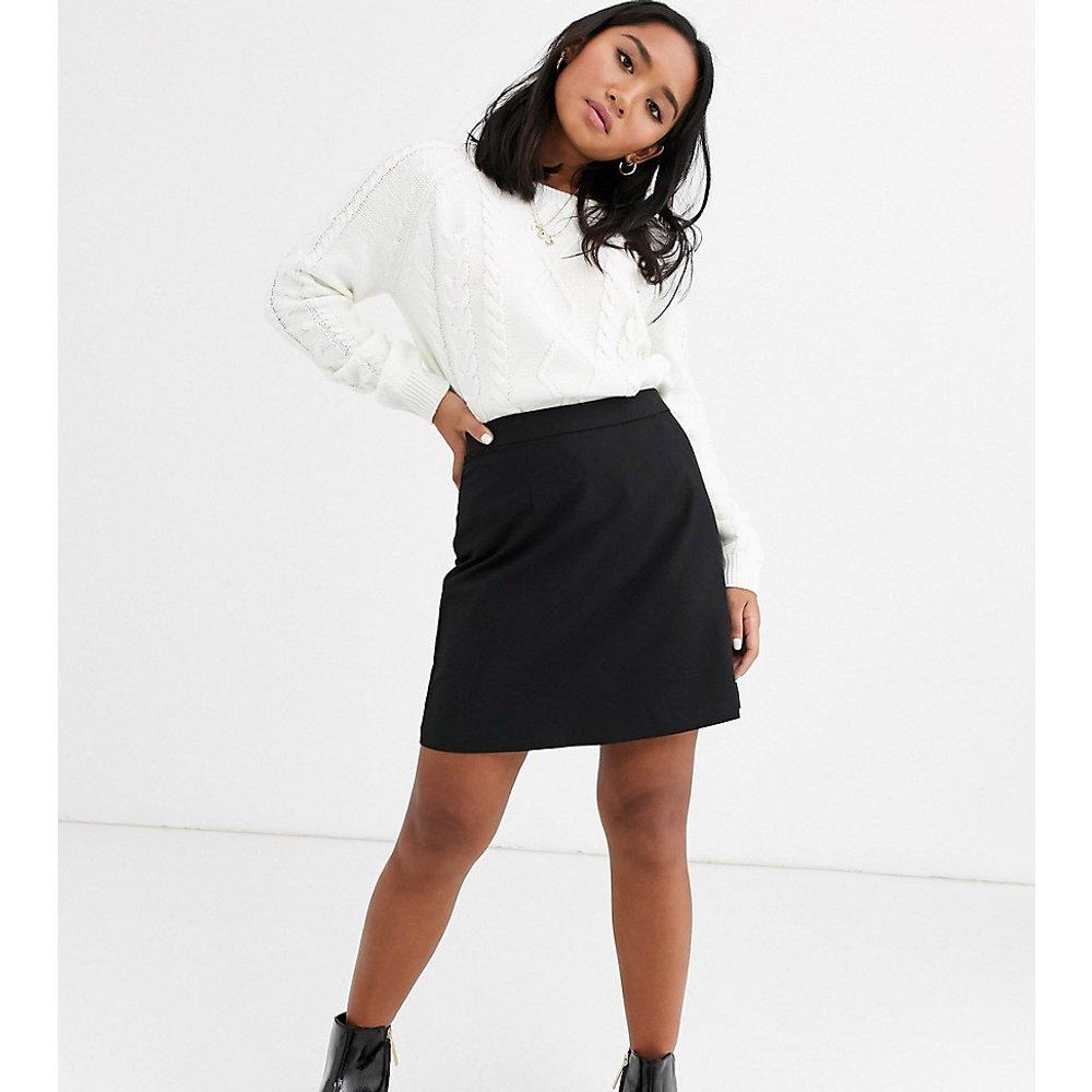 ASOS DESIGN Petite - Mini-jupe trapèze ajustée - ASOS Petite - Modalova