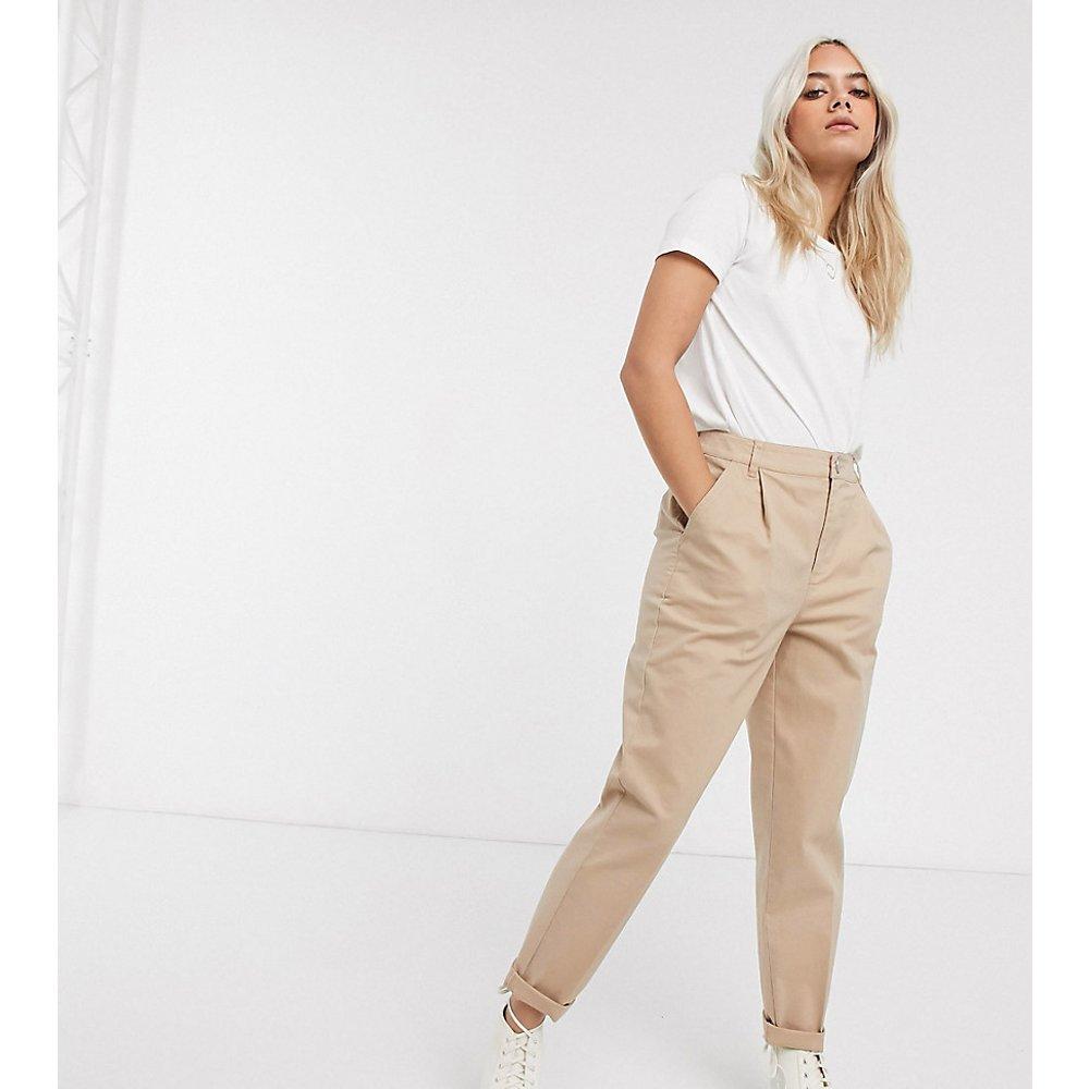 ASOS DESIGN Petite - Pantalon chino - Taupe - ASOS Petite - Modalova