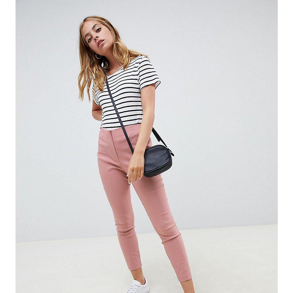ASOS DESIGN Petite - Pantalon taille haute skinny - ASOS Petite - Modalova