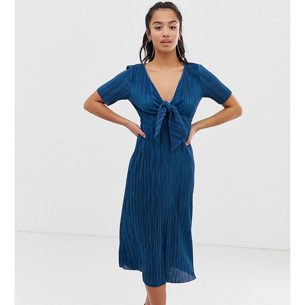 ASOS DESIGN Petite - Robe plissée - ASOS Petite - Modalova