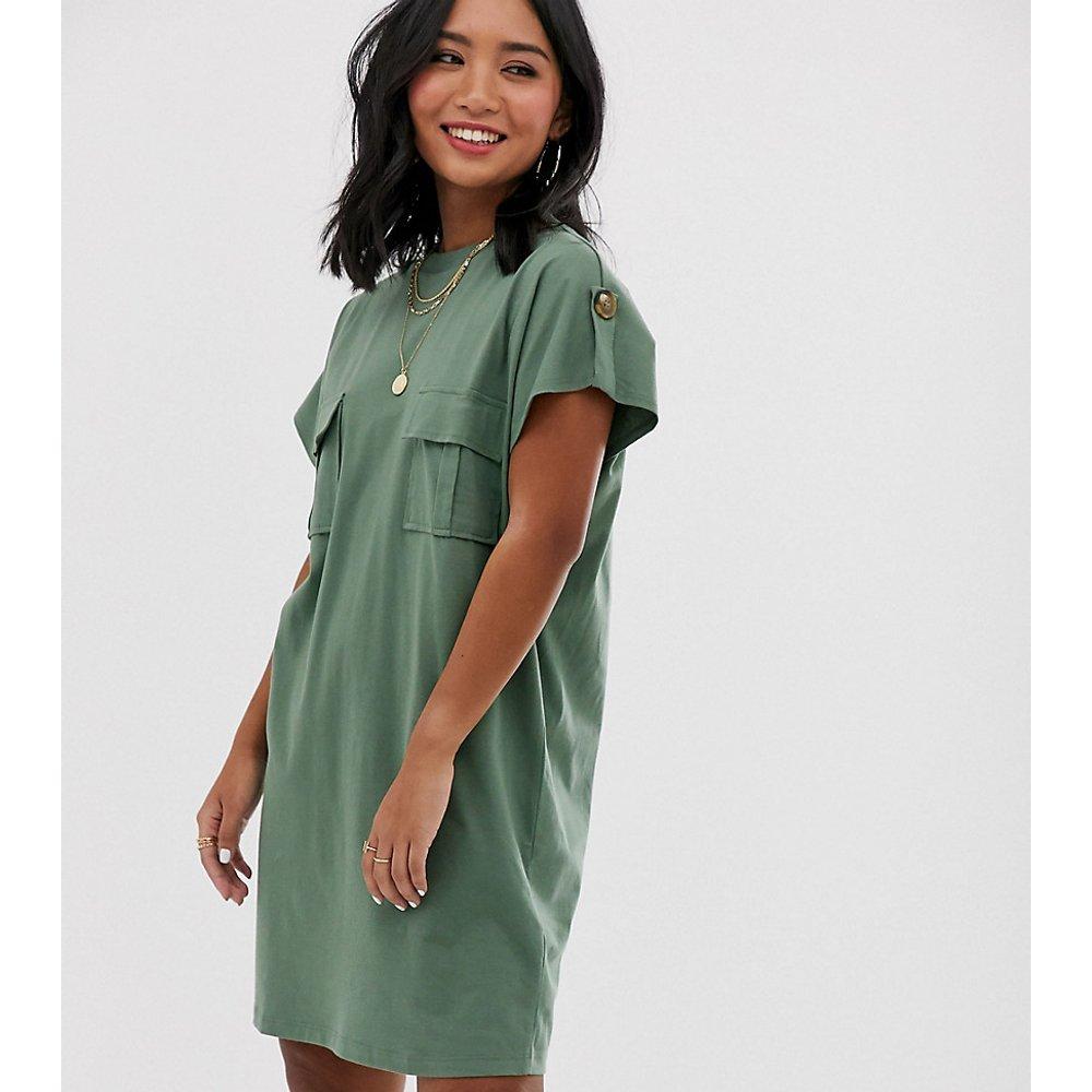 ASOS DESIGN Petite - Robe t-shirt fonctionnelle - ASOS Petite - Modalova