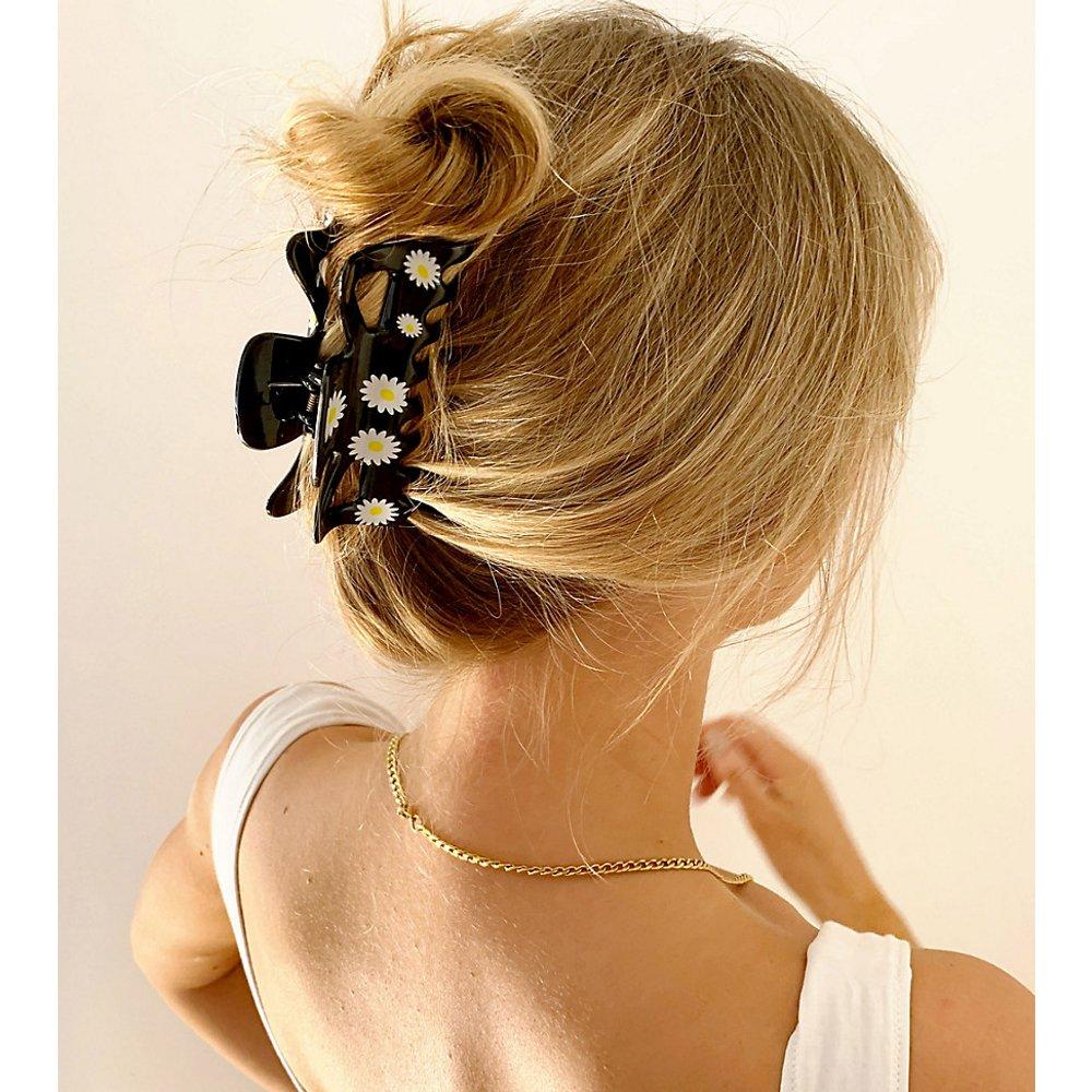 Pince à cheveux imprimé pâquerettes - ASOS DESIGN - Modalova