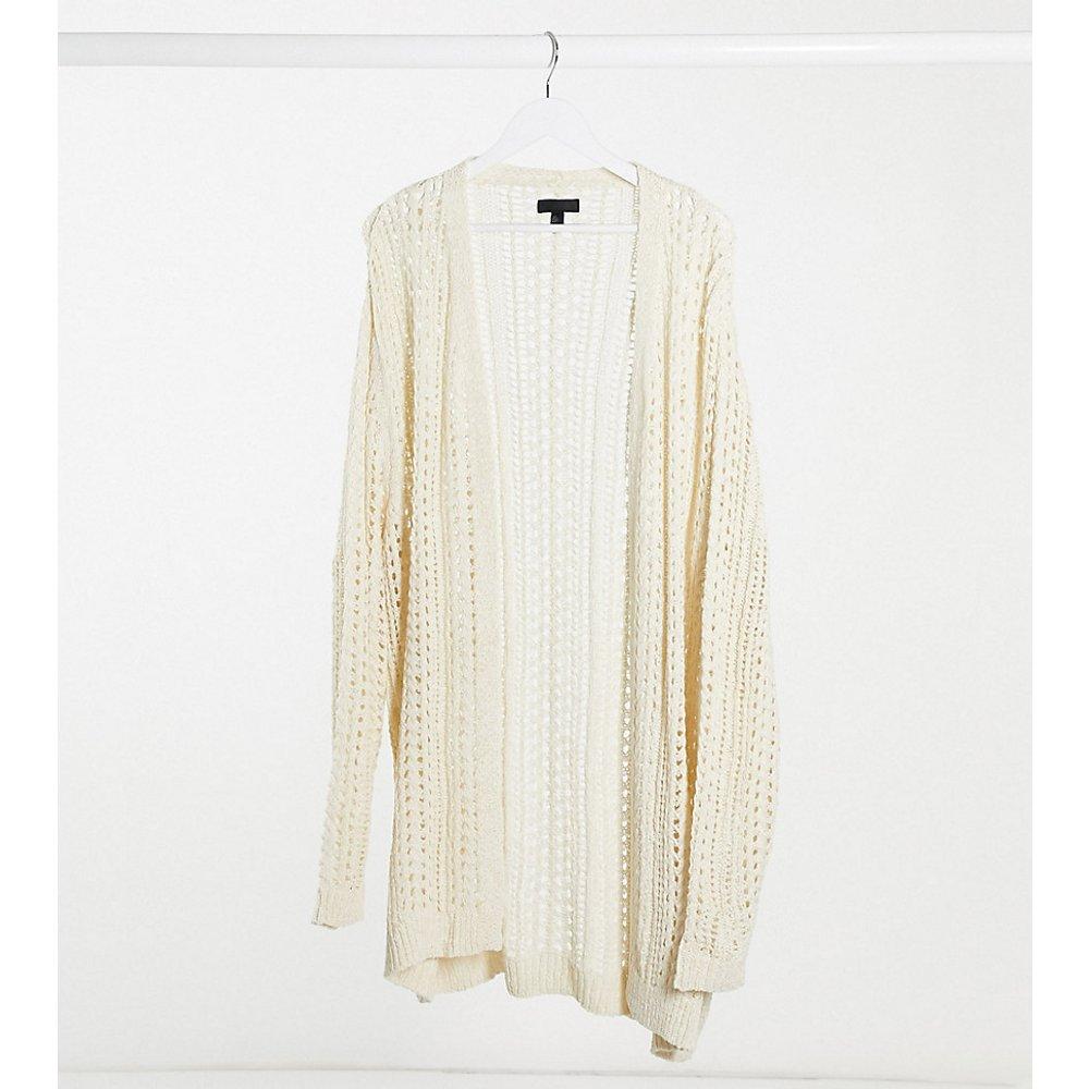 Plus - Cardigan au crochet - ASOS DESIGN - Modalova
