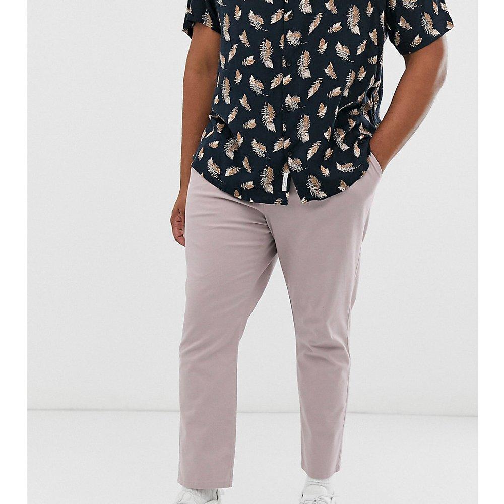 Plus - Pantalon chino cigarette plissé - chaud - ASOS DESIGN - Modalova