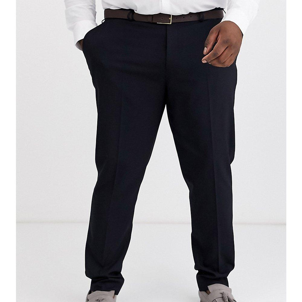 PLUS - Pantalon de costume slim - Bleu marine - ASOS DESIGN - Modalova