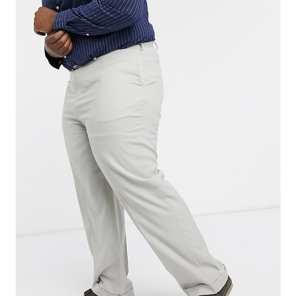 Plus - Pantalon large habillé - ASOS DESIGN - Modalova