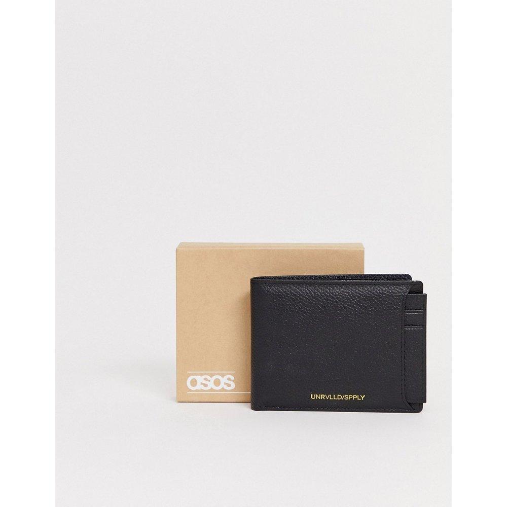 Porte-monnaie et porte-carte 2 en 1 en cuir - ASOS DESIGN - Modalova