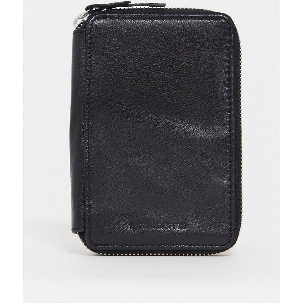 Portefeuille de voyage en cuir avec étui pour passeport - ASOS DESIGN - Modalova