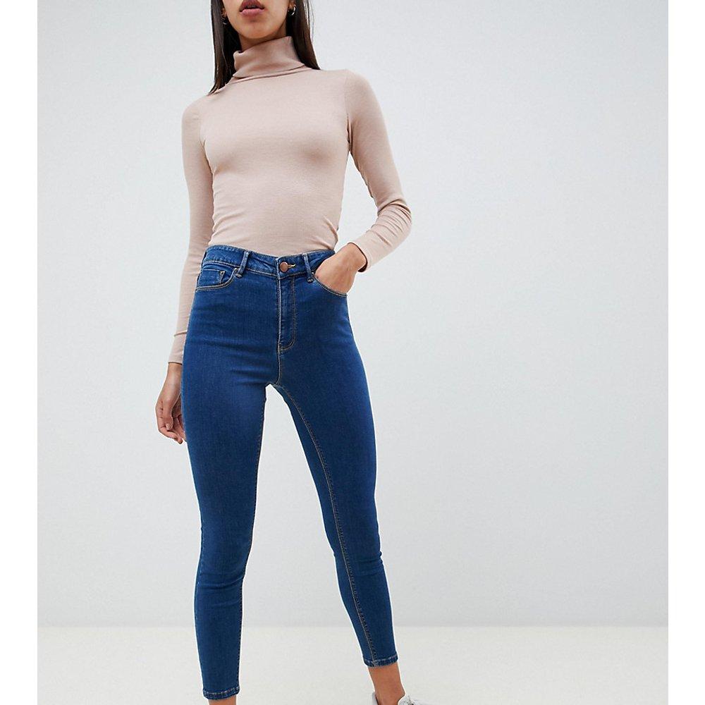 Ridley - Jean skinny taille haute - délavé - ASOS DESIGN - Modalova
