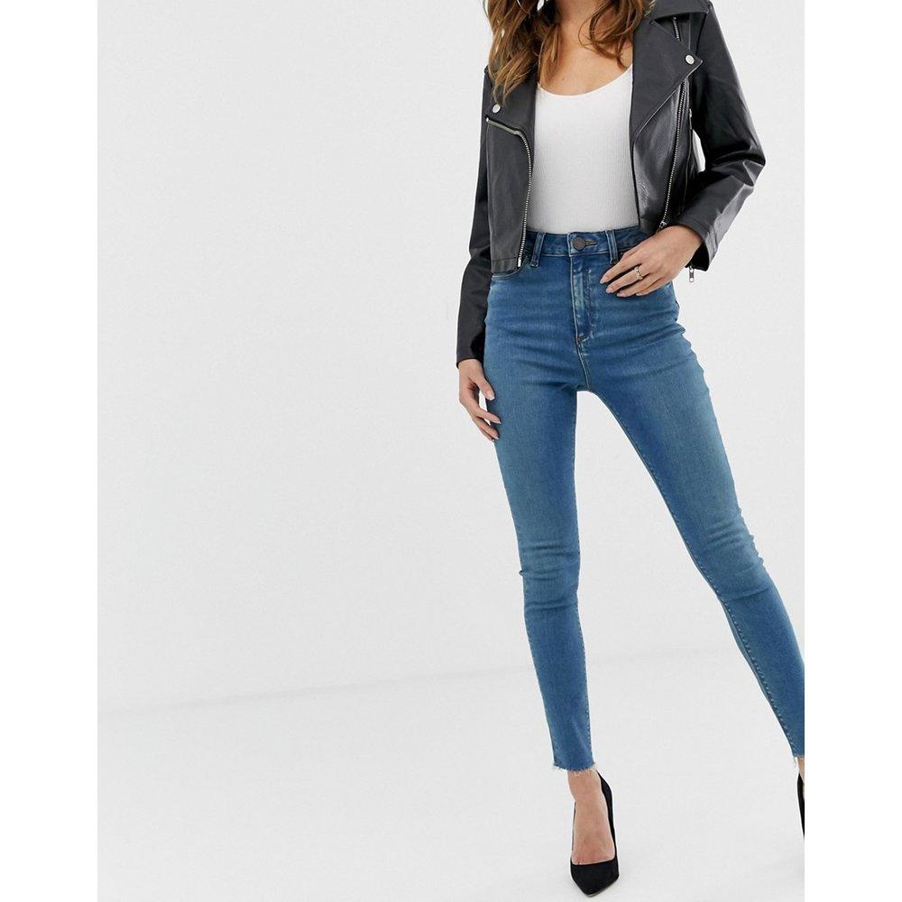 Ridley - Jean skinny taille haute - vieilli délavé - ASOS DESIGN - Modalova