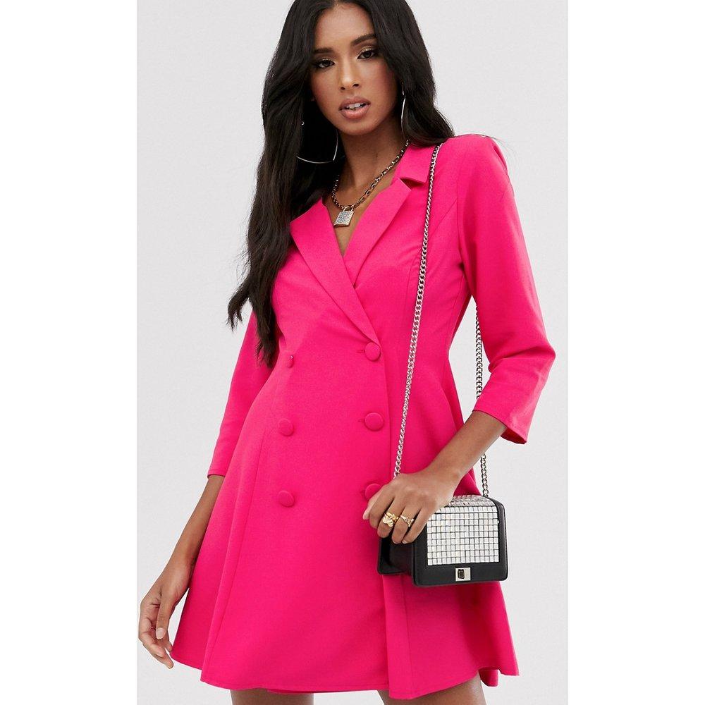Robe trapèze courte style tailleur - ASOS DESIGN - Modalova