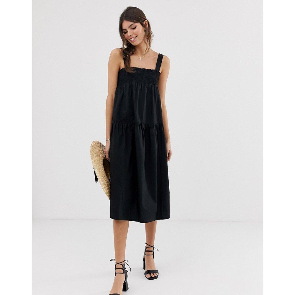 Robe trapèze d'été mi-longue en coton - ASOS DESIGN - Modalova