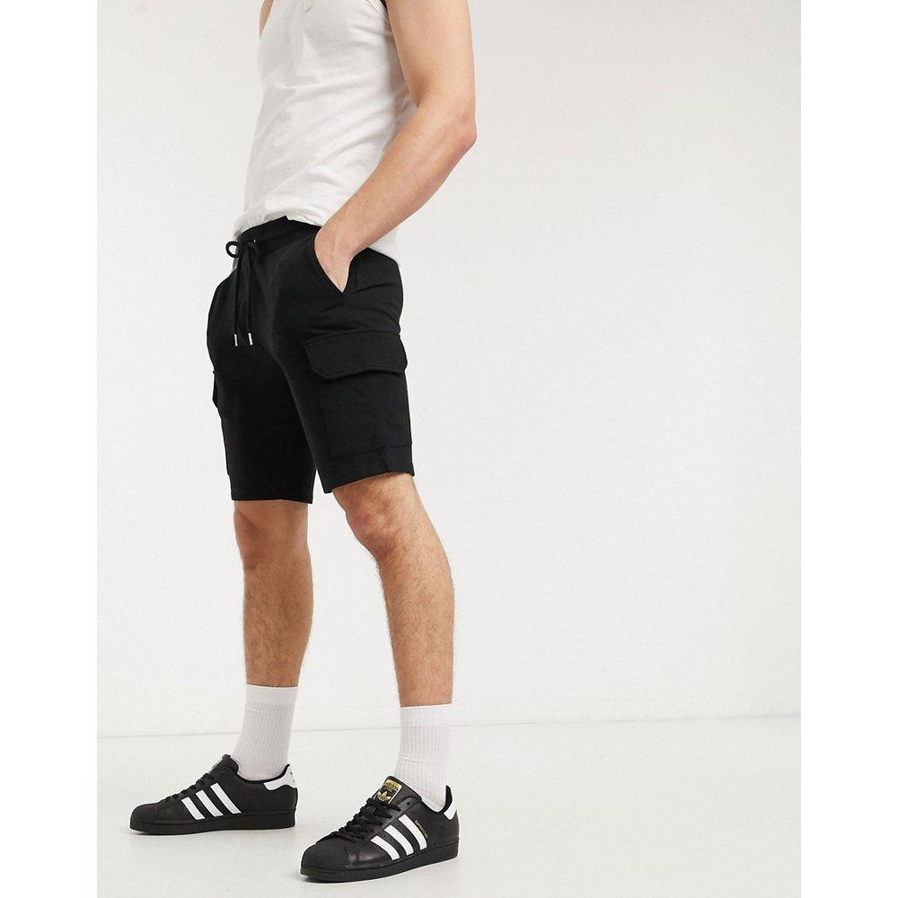 Short ajusté en jersey avec poches cargo - ASOS DESIGN - Modalova
