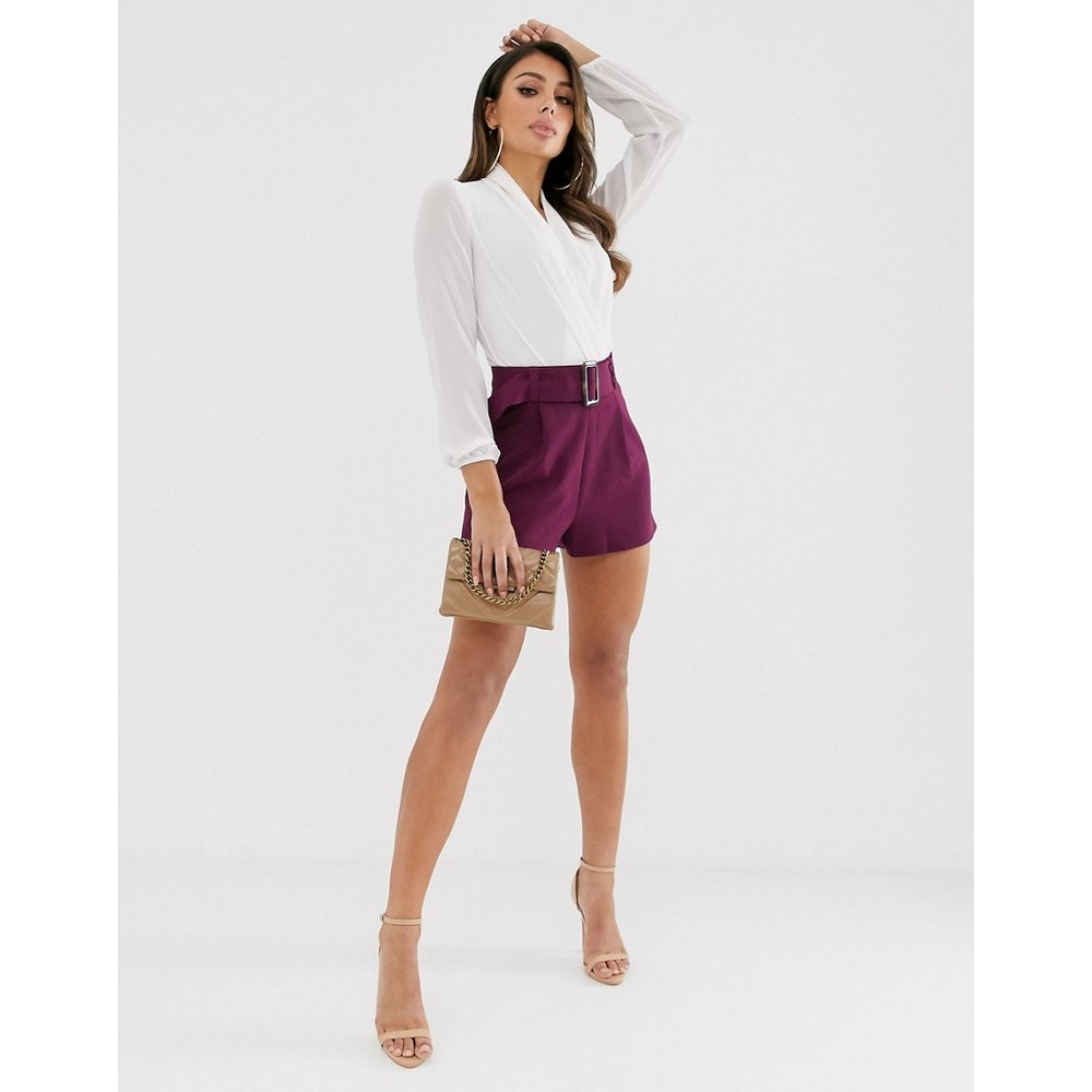 Short avec ceinture - ASOS DESIGN - Modalova