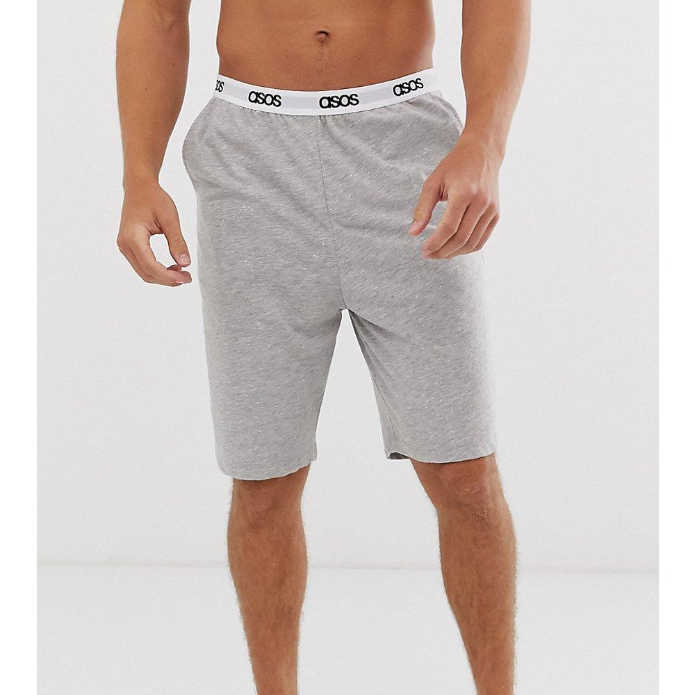 Short de pyjama confortable - Vert fluo chiné - ASOS DESIGN - Modalova