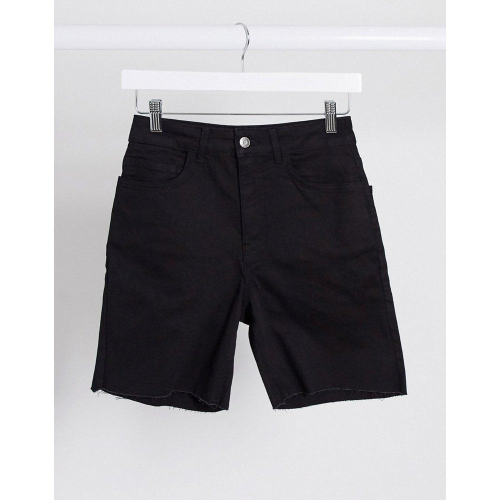 Short en jean skinny taille haute - ASOS DESIGN - Modalova