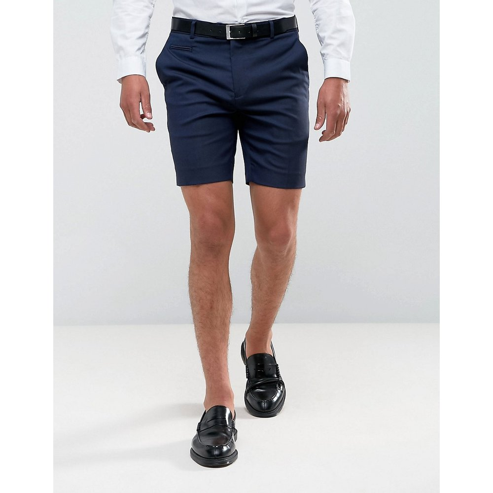 Short habillé - Bleu marine - ASOS DESIGN - Modalova