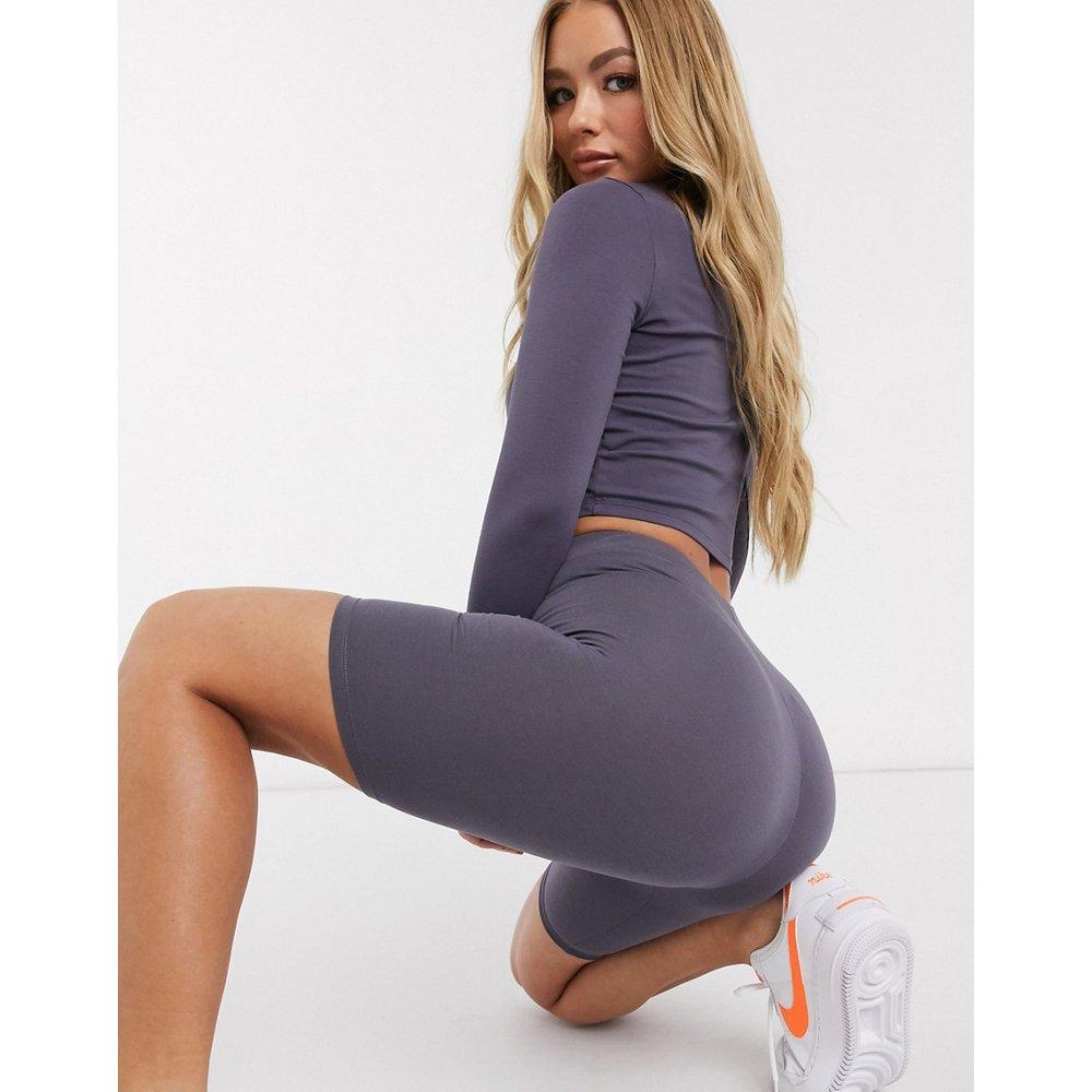 ASOS DESIGN - Short legging-Violet - ASOS DESIGN - Modalova